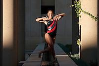 STANFORD, CA-OCTOBER 26, 2011- Stanford Women's Gymnastics team photo.