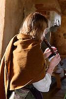 Aufführung in Burg Glimmingehus bei Simrishamn (erb. 1500), Provinz Skåne (Schonen), Schweden, Europa<br /> Performance in Castle Glimmingehus near Simrisham, province Skåne, Sweden