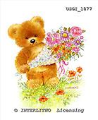 GIORDANO, CUTE ANIMALS, LUSTIGE TIERE, ANIMALITOS DIVERTIDOS, Teddies, paintings+++++,USGI1877,#AC# teddy bears