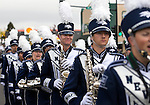 The University of Nevada, Reno marching band participates in the annual Nevada Day parade in Carson City, Nev. on Saturday, Oct. 29, 2016. <br />Photo by Cathleen Allison