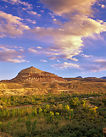 Freemont River and South Pinto Hills. Near Hanksville, Utah