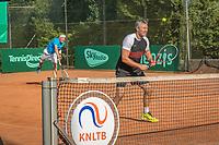 Etten-Leur, The Netherlands, August 27, 2017,  TC Etten, NVK, Men's doubles Marcel Hermans / Peter Wiemer (R)<br /> Photo: Tennisimages/Henk Koster