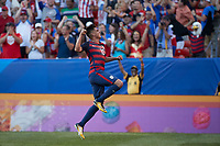 Cleveland, Ohio - Saturday, July 15, 2017: Joe Corona celebrates his goal during the USMNT vs Nicaragua in CONCACAF Gold Cup 2017 match at First Energy Stadium.