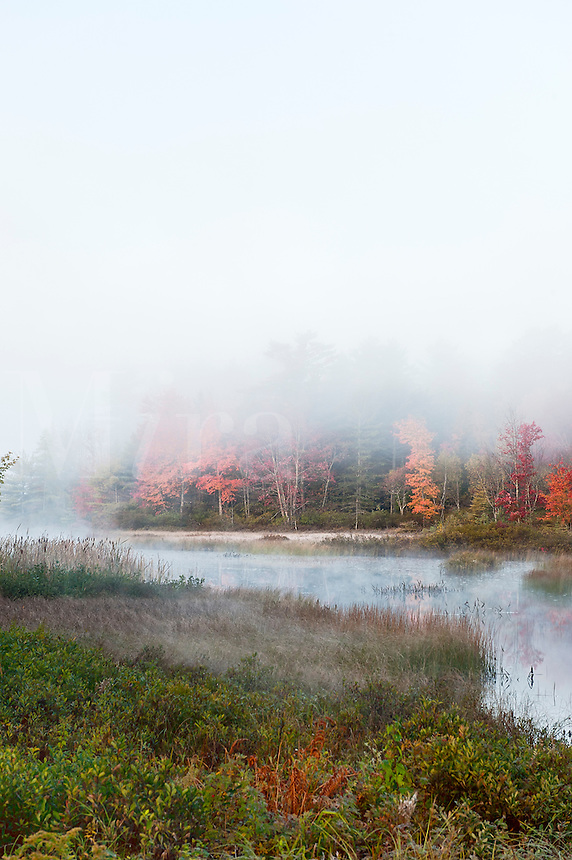 Somes Pond, Somesville, Maine, ME, USA