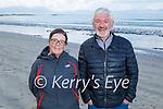 Enjoying a stroll in Ballyheigue on Saturday, l to r: Geraldine and James Lyne.