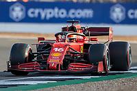 16th July 2021; Silverstone Circuit, Silverstone, Northamptonshire, England; Formula One British Grand Prix,  and Qualifying; Scuderia Ferrari Mission Winnow driver Charles Leclerc in his Ferrari SF21 Ferrari 065/6