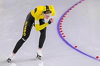 28th December 2020; Thialf Ice Stadium, Heerenveen, Netherlands; World Championship Speed Skating; 5000m ladies, Joy Beune during the WKKT
