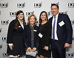 Rachel Routh, Barbara Olcott, Allie Olcott and Patrick Morrow during An Evening Of Legacy, Philanthropy & Music For The Benefit Of The Dramatists Guild Foundation at Morgan Stanley Headquarters on May 13, 2019 in New York City.