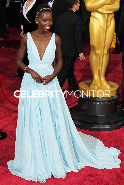 HOLLYWOOD, CA, USA - MARCH 02: Lupita Nyong'o at the 86th Annual Academy Awards held at Dolby Theatre on March 2, 2014 in Hollywood, Los Angeles, California, United States. (Photo by Xavier Collin/Celebrity Monitor)