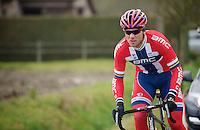 Norwegian National Champion Thor Hushovd (NOR)<br /> <br /> Omloop Het Nieuwsblad 2014
