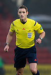 St Johnstone v Ross County....22.11.14   SPFL<br /> Ref Steven McLean<br /> Picture by Graeme Hart.<br /> Copyright Perthshire Picture Agency<br /> Tel: 01738 623350  Mobile: 07990 594431
