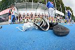 Mannheim, Germany, September 21: Finale in der 1. Hauptrunde der HBW Oberliga Weibliche Jugend B in der Saison 2014/15 zwischen dem Mannheimer HC und dem Bietigheimer HTC am September 21, 2014  Mannheimer Hockey Club in Mannheim, Germany. Endstand 2-0 (2-0). (Photo by Dirk Markgraf / www.265-images.com) *** Local caption ***