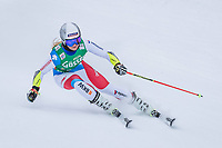 28th December 2020; Semmering, Austria; FIS Womens Giant Slalom World Cu Skiing;  Corinne Suter of Switzerland in action during her 1st run of women Giant Slalom of FIS ski alpine world cup at the Panoramapiste in Semmering