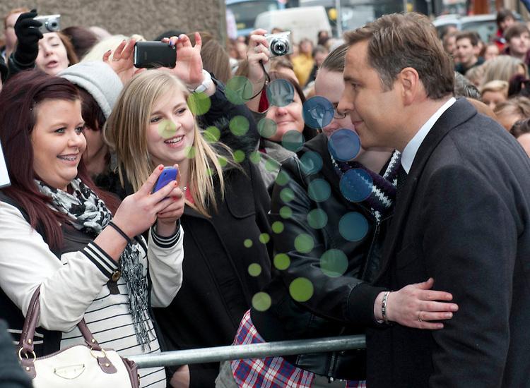 Britain's Got Talent in Edinburgh. Pictured David Walliams..Picture: Pavol Mraz/Universal News And Sport (Scotland). 11/ February 2012.