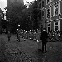 2 juin 1965. Vue d'une cérémonie militaire à l'occasion de la nuit Légion et Musique.