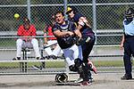 Nelson Softball Open, Day 1