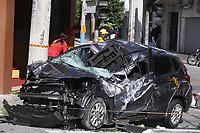 20.05.2019 - Acidente de carro na rua Pamplona em SP