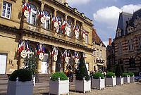 France, Moulins, Auvergne, Allier, Europe, Hotel de Ville in the city of Moulins.