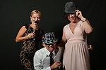 Fun Photo Booth at Tappan Hill Mansion Wedding - A Bit of Color