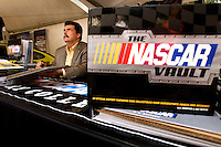 NASCAR president Mike Helton at Food Lion Speed Street in uptown Charlotte, NC.