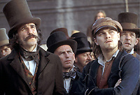 FILMBILD /  T: Gangs of New York / Gangs of New York, D: Daniel Day-Lewis, Leonardo DiCaprio, R: Martin Scorsese, P: USA/D/I/GB/NL, J: 2001, PO: Szenenbild, RU:  DA:  Aufnahmedatum unbekannt Filmstill // HANDOUT / EDITORIAL USE ONLY! / Please note: Fees charged by the agency are for the agency's services only, and do not, nor are they intended to, convey to the user any ownership of Copyright or License in the material. The agency does not claim any ownership including but not limited to Copyright or License in the attached material. By publishing this material you expressly agree to indemnify and to hold the agency and its directors, shareholders and employees harmless from any loss, claims, damages, demands, expenses (including legal fees), or any causes of action or allegation against the agency arising out of or connected in any way with publication of the material.