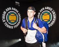 ABN AMRO World Tennis Tournament, Rotterdam, The Netherlands, 14 februari, 2017, Tallon Griekspoor (NED)<br /> Photo: Henk Koster