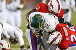 South Florida Bulls running back D'Ernest Johnson (32) in action during the game between the South Florida Bulls and the SMU Mustangs at the Gerald J. Ford Stadium in Fort Worth, Texas. USF defeats SMU 14 to 13.
