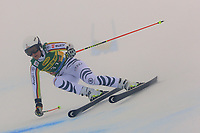 17th October 2020, Rettenbachferner, Soelden, Austria; FIS World Cup Alpine Skiing ladies downhill; Lena Duerr (GER) in foggy conditions