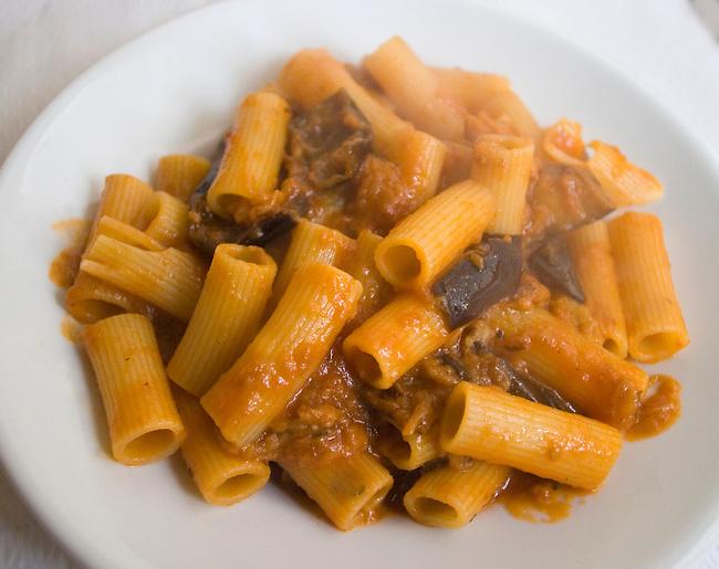 Rigatoni, Pan Da Tonino Restaurant, Rome, Italy