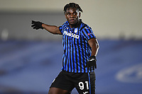 16th March 2021; Madrid, Spain; during the Champions League match, round of 16, between Real Madrid and Atalanta; Duvan Zapata
