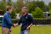 """""""CATCHING UP"""" 2012 IRL-Tattersalls International Horse Trial: Tuesday Arrival Day"""