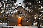 Jan. 22, 2013; Log Chapel..Photo by Matt Cashore/University of Notre Dame