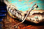 Derelict 1, forgotten old boat on Balboa Island, CA.