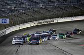 #51: Spencer Davis, Kyle Busch Motorsports, Toyota Tundra JBL/SiriusXM and #24: Justin Haley, GMS Racing, Chevrolet Silverado Fraternal Order Of Eagles