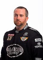 Jan 16, 2013; Palm Beach Gardens, FL, USA; NHRA top fuel driver Shawn Langdon poses for a portrait. Mandatory Credit: Mark J. Rebilas-