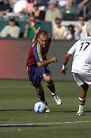 Chris Brown turns upfield. The Los Angeles Galaxy defeated Real Salt Lake, 3-2, at the Home Depot Center in Carson, CA on Sunday, June 17, 2007.