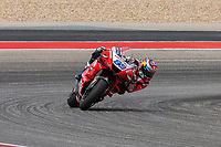 3rd October 2021; Austin, Texas, USA; Jorge Martin of Spain and Pramac in turn 15 during the MotoGP Red Bull Grand Prix of the Americas  at Circuit of The Americas in Austin, Texas.