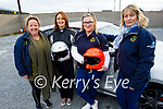 Kerry Motor Club members ready for road as the club are encouraging women to get involved in motorsport. The motor club has become the first motorsport club in Ireland to gain 20×20 status to promote the active role women play in sports clubs all over Ireland, as competitors or on management and committee level. Front right: Noreen Walsh. Back l to r: Lorraine McElligott, Christena Fealey and Michelle Walsh