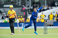 Mohammad Nabi, London Spirit in action during London Spirit Men vs Trent Rockets Men, The Hundred Cricket at Lord's Cricket Ground on 29th July 2021