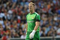 Joe Hart Manchester City goalkeeper..Manchester City defeated Chelsea 4-3 in an international friendly at Busch Stadium, St Louis, Missouri.