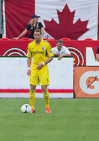 July 20, 2013: Columbus Crew defender Josh Williams #3 in action during a game between Toronto FC and the Columbus Crew at BMO Field in Toronto, Ontario Canada.<br /> Toronto FC won 2-1.