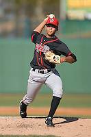 Starting pitcher Henderson Alvarez #31 of the Lansing Lugnuts in action versus the South Bend Silver Hawks at Coveleski Stadium April 15, 2009 in South Bend, Indiana. (Photo by Brian Westerholt / Four Seam Images)
