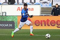 Marcel Heller (SV Darmstadt 98)- 11.02.2017: SV Darmstadt 98 vs. Borussia Dortmund, Johnny Heimes Stadion am Boellenfalltor
