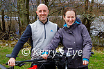 Enjoying a cycle around Ross Castle in Killarney on Sunday, l to r: Eddie O'Sullivan and Miriam O'Donoghue.