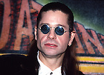Ozzy Osbourne 1991 at Foundation Forum Awards.© Chris Walter.