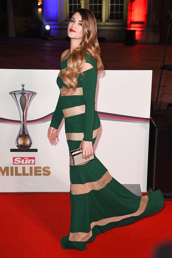 Amy Willerton<br /> at the Millies 2016, Guildhall, London.<br /> <br /> <br /> ©Ash Knotek  D3212  14/12/2016