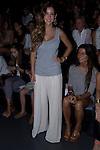 31.08.2012. Celebrities attending the Angel Schlesser fashion show during the Mercedes-Benz Fashion Week Madrid Spring/Summer 2013 at Ifema. In the image (L) Alejandra Onieva. (Alterphotos/Marta Gonzalez)
