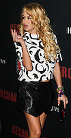"""HOLLYWOOD, LOS ANGELES, CA, USA - MARCH 20: Paulina Rubio at the Los Angeles Premiere Of Pantelion Films And Participant Media's """"Cesar Chavez"""" held at TCL Chinese Theatre on March 20, 2014 in Hollywood, Los Angeles, California, United States. (Photo by Celebrity Monitor)"""