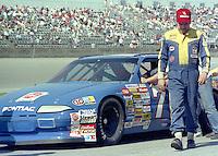 J. D. McDuffie Daytona 500 at Daytona International Speedway on February 19, 1989.  (Photo by Brian Cleary/www.bcpix.xom)