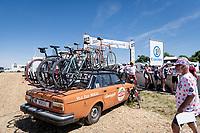 nostalgic pop-up fun up the Côte de Rosières<br /> <br /> Stage 4: Reims to Nancy(215km)<br /> 106th Tour de France 2019 (2.UWT)<br /> <br /> ©kramon